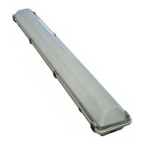 Energy Solutions International F-14VA-F4VH-50-FR-SS-BX LED Vapor Tight Fixture, 1 x 4, 51W, 7033L, 5000K,