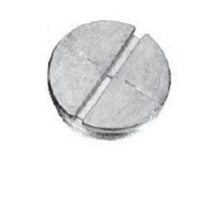 Cooper Crouse-Hinds TP7948 1 CLOSURE PLUG GR DC ZINC