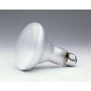 SYLVANIA 65BR30/FL/CVP-130V Incandescent Lamp, BR30, 65W, 130V, FL60