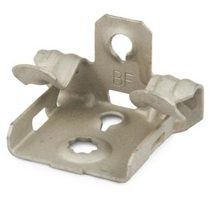 "Erico Caddy M24 Flange Clip, Type Hammer-On, Fits 1/8 to 1/4"" Flange"