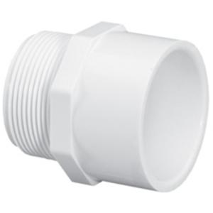 Lasco Fittings 436-007 ADAPTER PIPE: PVC 3/4IN