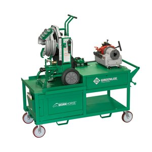 Greenlee WK100 Workhorse Bending and Threading Station