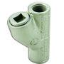 """Appleton EYSF75 Conduit Seal, 3/4"""", Female/Female, Vertical (25% Fill), Malleable"""