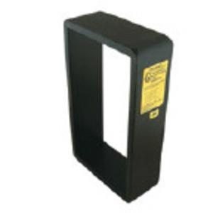 "Roxtec S006600000112 Frame, Type: S, (2) Openings, 18.346 x 5.551"", Mild Steel"