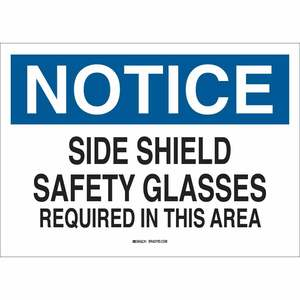 25571 EYE PROTECTION SIGN
