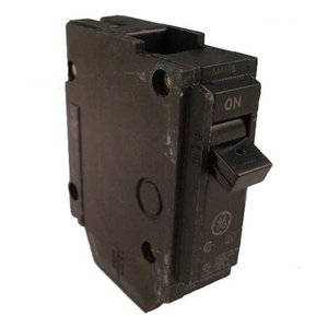 GE Industrial THQL1120 Breaker, 20A, 1P, 120/240V, 10 kAIC, Q-Line Series