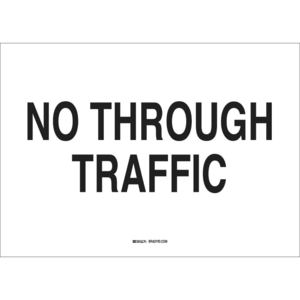 25858 TRAFFIC SIGN: INDUSTRIAL