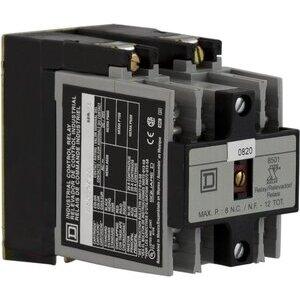 8501XO20V06 RELAY 600VAC 10AMP NEMA +OP