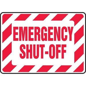 "Panduit PAS1014B7200 10.00"" x 14.00"" EMERGENCY SHUT OFF *** Discontinued ***"