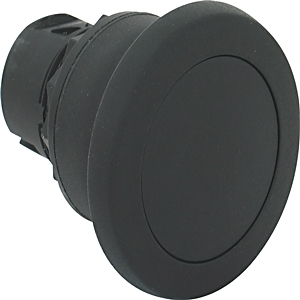 Allen-Bradley 800FP-MM45 Push Button, 40mm Mushroom Head, Yellow, Momentary, Plastic