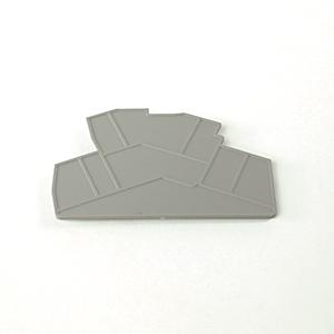 Allen-Bradley 1492-EBLD4 Terminal Block, End Barriers, Spring Clamp Type, Gray