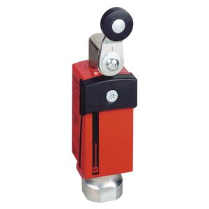 Square D XCSD3718N12 Limit Switch, Safety, Side Rotary, Fixed Arm, Thermoplastic Roller