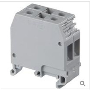Entrelec 011524722 Terminal Block, Feed Through, 6mm, Gray *** Discontinued ***