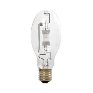 SYLVANIA M400/C/U/ED28 Metal Halide Lamp, ED28, 400W, Coated