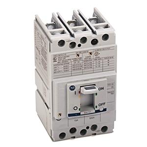 Allen-Bradley 140G-G2C3-C15 Breaker, Molded Case, 15A, 3P, 600Y/347VAC, G Frame, 25kAIC