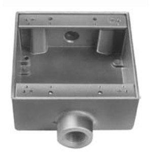 Thomas & Betts 2AFSC-1 1/2 IN, 2G-FS BOX, ALUM, THRU-FEED