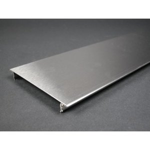 Wiremold S4000C090 9in. Blank Cover S.s.