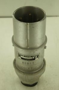 Russellstoll 3328-78 Pin & Sleeve Plug, 60A, 480V, 3P4W