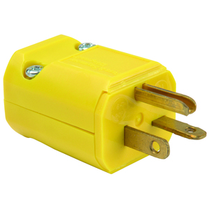 Pass & Seymour PS5464-Y PS PS5464-Y STR BLD PLUG 3W 20A