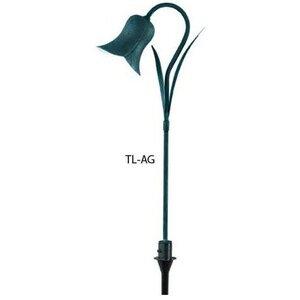 Hubbell - Lighting TL-AG Path Light, LED, 1 Light, 1.5W, 12V, Antique Green