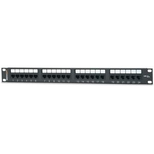 Signamax 24458MD-C5E 24 Port 5e Universal Pach Panel