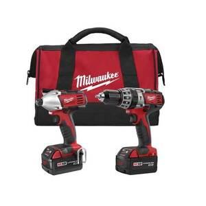 Milwaukee 2697-22 Cordless Tool Kit, M18