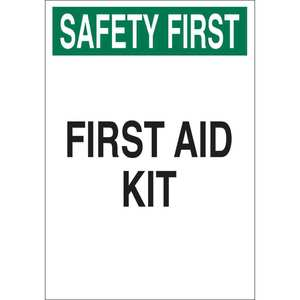 22644 FIRST AID SIGN