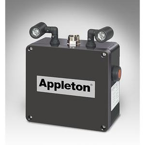 Appleton N2LED2T1 Emergency Light, LED, 2 Head, 3 Watt, 257.8 Lumen, 5000K