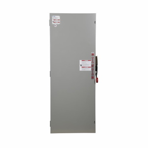 Eaton DT364NGK Safety Switch, Double Throw, Heavy Duty, 200A, 600VAC, NEMA 1