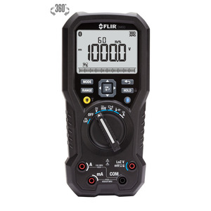 FLIR DM93 Multimeter, Industrial, True RMS