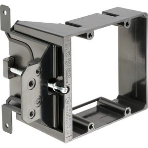 Arlington LVA2 Low Voltage Mounting Bracket, 2-Gang, Adjustable