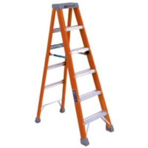 F586-10 FIBERGLASS 10FT STEP LADDER