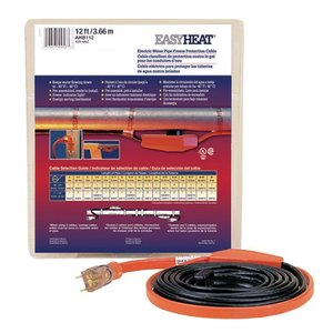 Easyheat AHB-112A Pre-Terminated Cable, 12', 84W