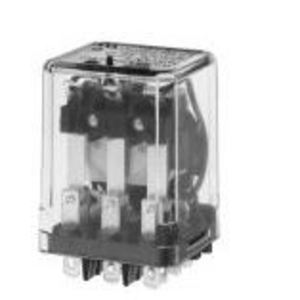 Tyco Electronics KUP-14A45-120 Relay, Ice Cube, 10A, 11-Blade, 3PDT, 120VAC Coil, No Options