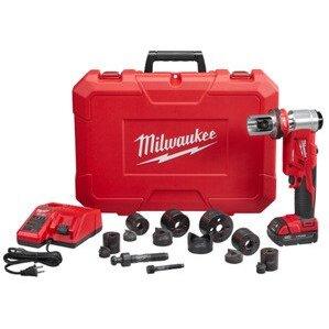 "Milwaukee 2677-21 M18™ FORCE LOGIC™ 6T Knockout Tool 1/2"" - 2"" Kit"