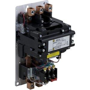Square D 8536SGO1V02S Starter, Size 5, 270A, 600VAC, 120VAC Coil, Non-Reversing, Open, 3P