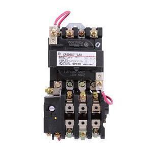 GE CR306C002LAA Starter, Magnetic, NEMA Size 1, 3PH, 120VAC Coil, 600VAC, 27A, Open