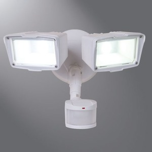 MST18920LW TWIN LED FLOOD WHITE DIECAST