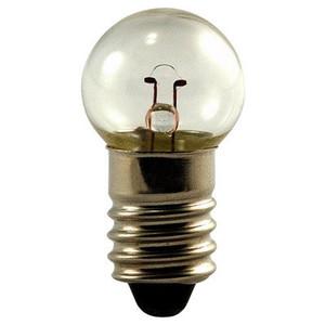 Eiko 502 Miniature Bulb, 5.1 Volt, .15 Amp, G4-1/2 Bulb, Mini Screw Base