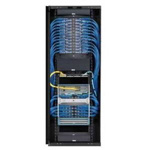 Panduit S7512BAAP-002 Net-Access S-Type Standard Cabinet, With Side panels