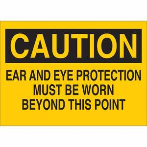25196 PROTECTIVE WEAR SIGN