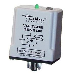 Time Mark 2601-240VAC Voltage Sensor, Under, 240VAC, 200-240VAC Range, 10A, SPDT Output