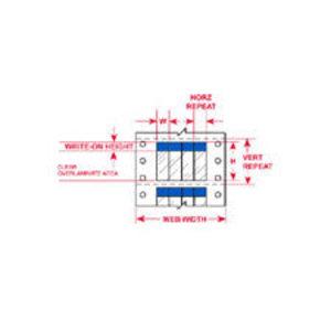 """DAT-40-292-BL 2.000 INX3.750""""  (50.80 MM"""