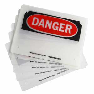 23365 LAMINATING POUCHES: DANGER
