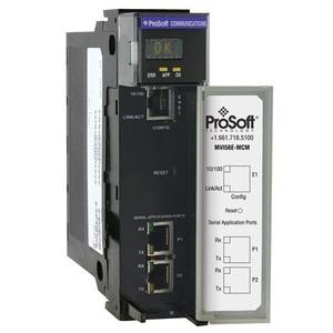 Prosoft Technology MVI56E-MCM Communications Module, Modbus, ControlLogix, Enhanced Interface