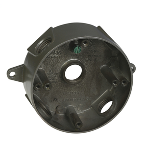 Hubbell-Raco RB550Z RAC RB550Z ROUND BOX 5 1/2 HOLES
