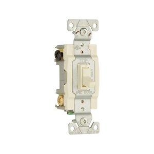 Eaton Wiring Devices 1242-7LA-BOX Switch Toggle 4Way 15A 120V Grd LA