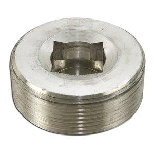 "Appleton PLG-200A Close-Up Plug, Recessed Head, 2"", Explosionproof, Aluminum"