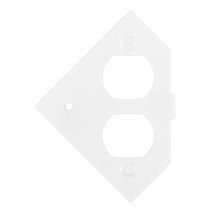 Hubbell-Wiring Kellems RAFB4SPDUPLEX RAFB 4-G SUB-PLATE DUPLEX