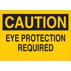 22399 EYE PROTECTION SIGN